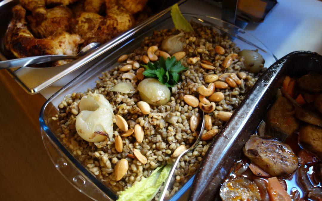 Arabisches Mittagessen – jetzt wieder zum Mitnehmen!