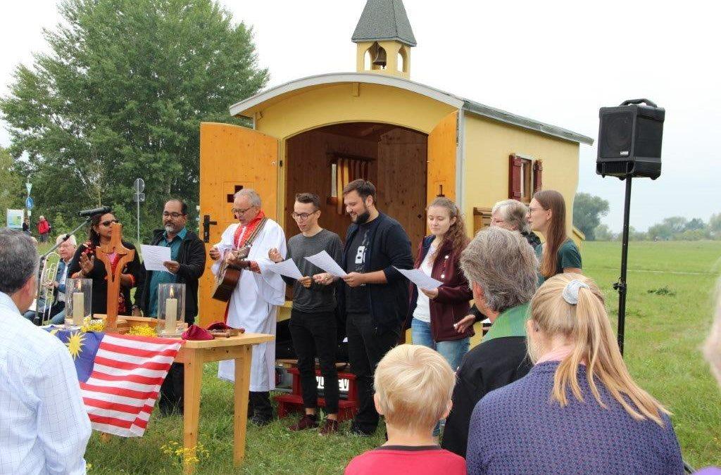 Schäferkirche in Aktion