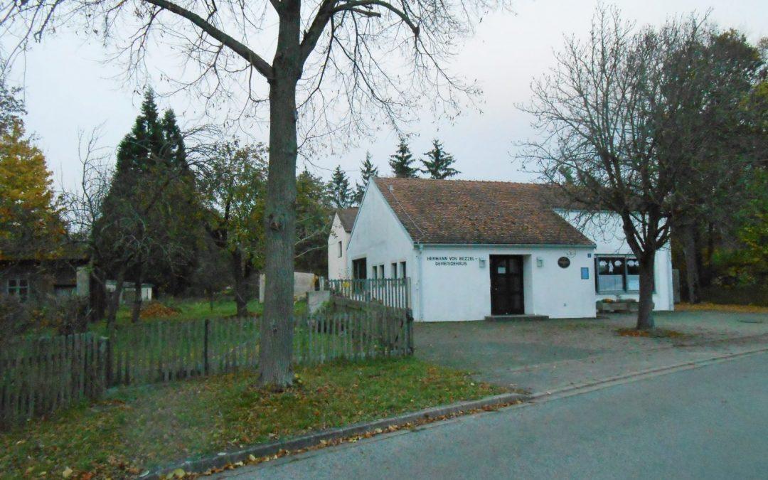Projekt Dorfgemeinschaftshaus