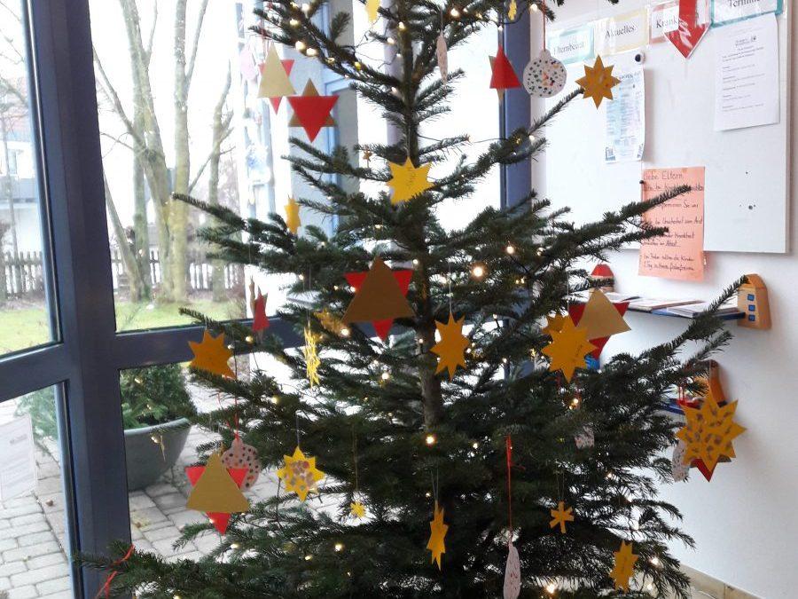 Danke für den schönen Weihnachtsbaum