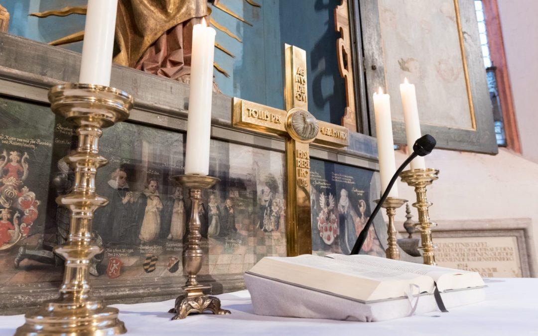 Gottesdienst zum letzten Sonntag nach Epiphanias aus der Rieterkirche Kalbensteinberg (31.01.2021)