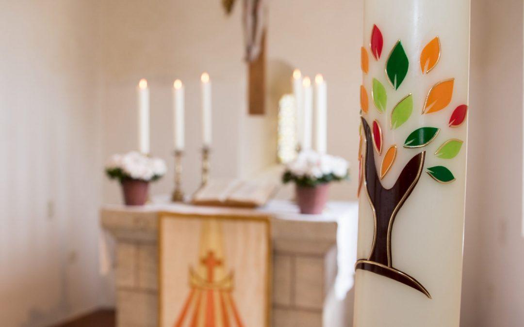 Andacht mit Gedanken zur Osterkerze aus St. Michael Fünfbronn (04.04.2021)