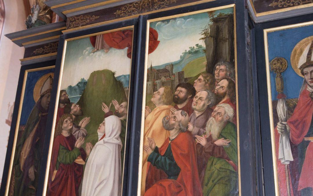 Familiengottesdienst zu Christi Himmelfahrt aus der Rieterkirche St. Marien und Christophorus Kalbensteinberg