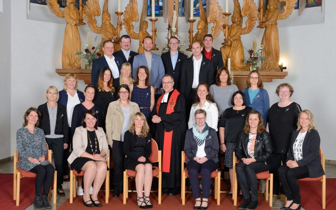 Silberne Konfirmation 2021 in Merkendorf